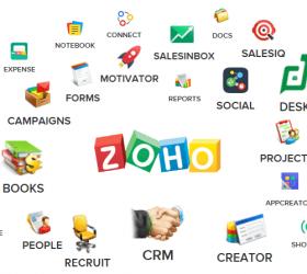 Zoho une suite complète pour les entreprises